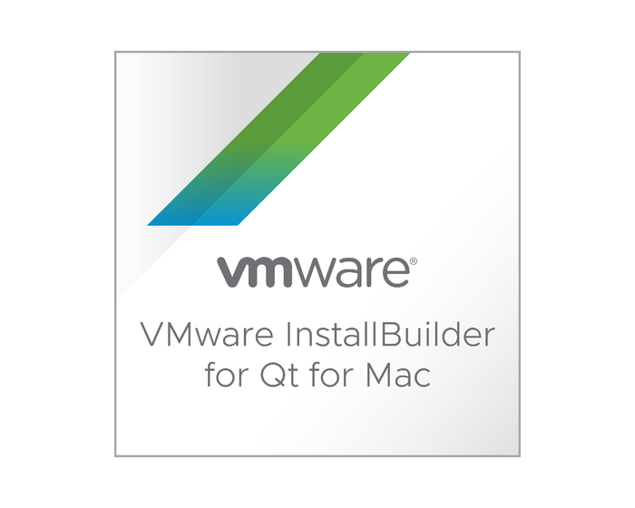 VMware InstallBuilder for Qt for Mac
